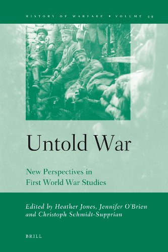 9789004166592: Untold War: New Perspectives in First World War Studies (History of Warfare)