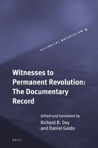 9789004167704: Witnesses to Permanent Revolution: The Documentary Record (Historical Materialism Book Series)