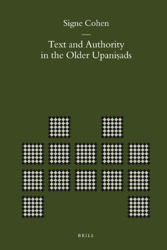 9789004167773: Text and Authority in the Older Upanishads (Brill's Indological Library)