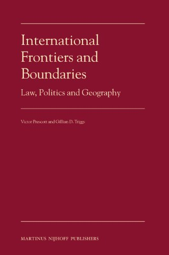 9789004167858: International Frontiers and Boundaries: Law, Politics and Geography