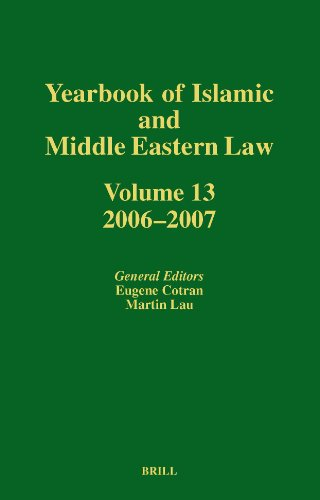 Yearbook of Islamic and Middle Eastern Law 2006-2007: Volume 13 (Hardback)