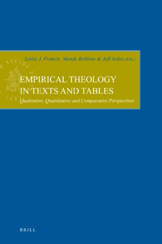 9789004168886: Empirical Theology in Texts and Tables (Empirical Studies in Theology)