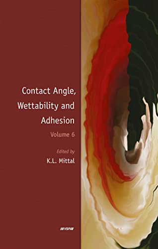 Contact Angle, Wettability and Adhesion: Volume 6 (Hardback)