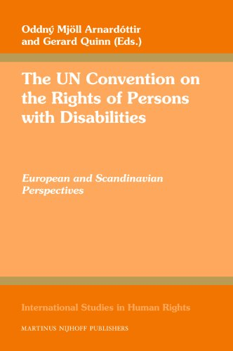 9789004169715: The UN Convention on the Rights of Persons with Disabilities (International Studies in Human Rights)