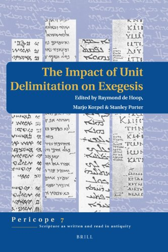 The Impact of Unit Delimitation on Exegesis (Hardback)