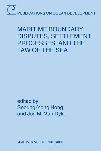 9789004173439: Maritime Boundary Disputes, Settlement Processes, and the Law of the Sea (Publications on Ocean Development)
