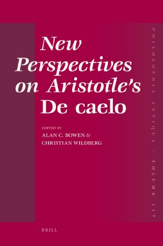 9789004173767: New Perspectives on Aristotle's de Caelo (Philosophia Antiqua)