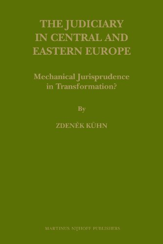 9789004175563: The Judiciary in Central and Eastern Europe (Law in Eastern Europe)