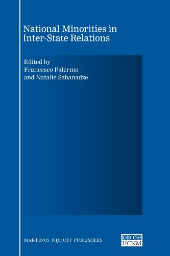 9789004175983: National Minorities in Inter-State Relations