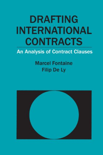 Drafting International Contracts: An Analysis of Contract: Marcel;Ly Fontaine