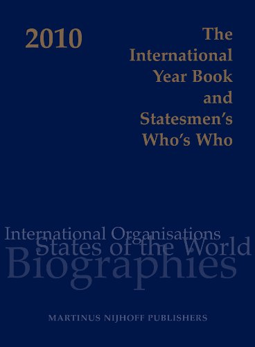 9789004176874: The International Year Book and Statesmen's Who's Who 2010 (International Year Book & Statesmen's Who's Who)