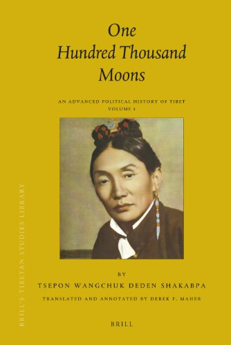 9789004177321: One Hundred Thousand Moons (Brill's Tibetan Studies Library)