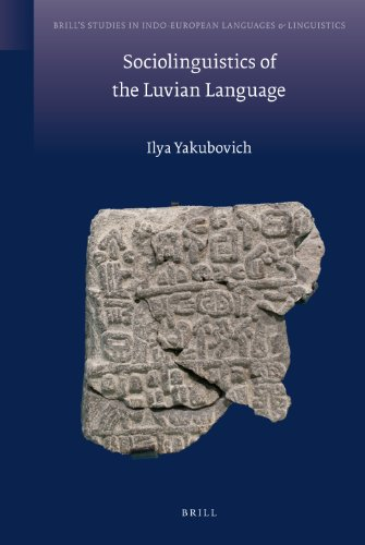 Sociolinguistics of the Luvian Language (Hardback): Ilya Yakubovich
