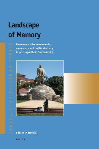 9789004178564: Landscape of Memory (Afrika-Studiecentrum)