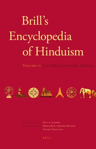 9789004178939: Brill's Encyclopedia of Hinduism. Volume Two (Handbook of Oriental Studies)