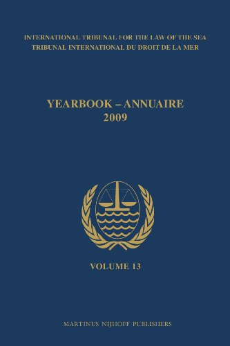 Yearbook International Tribunal for the Law of the Sea / Annuaire Tribunal International du ...
