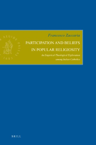 Participation and Beliefs in Popular Religiosity: An: Francesco Zaccaria