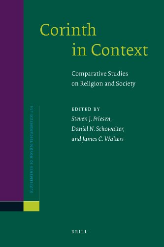 9789004181977: Corinth in Context (Supplements to Novum Testamentum)