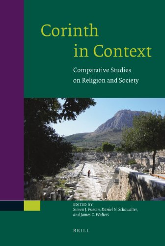9789004182110: Corinth in Context: Comparative Studies on Religion and Society