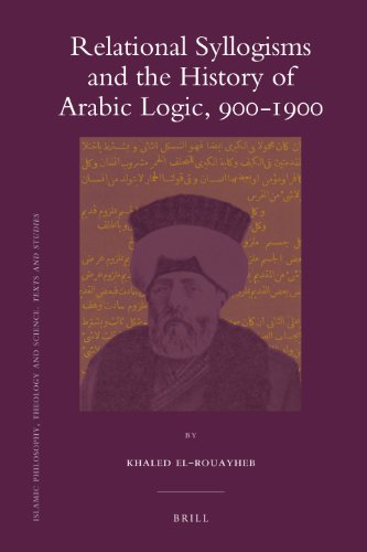 9789004183193: Relational Syllogisms and the History of Arabic Logic, 900-1900 (Islamic Philosophy, Theology and Science. Texts and Studies)