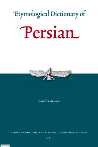 9789004183414: Etymological Dictionary of Persian (Leiden Indo-European Etymological Dictionary)