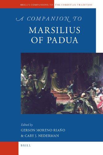 9789004183483: A Companion to Marsilius of Padua (Brill's Companions to the Christian Tradition)