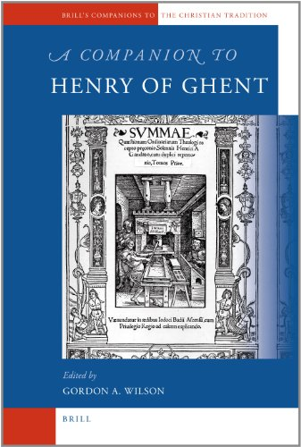 9789004183490: A Companion to Henry of Ghent (Brill's Companions to the Christian Tradition)