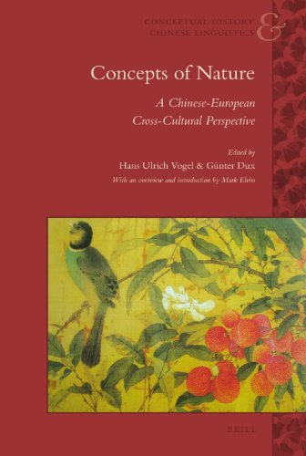 9789004185265: Concepts of Nature: A Chinese-European Cross-Cultural Perspective (Conceptual History and Chinese Linguistics)