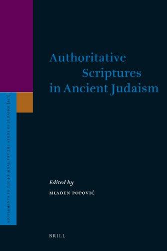 Authoritative Scriptures in Ancient Judaism (Hardback)