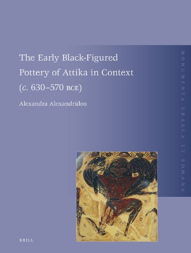 9789004186040: The Early Black-Figured Pottery of Attika in Context (c. 630-570 BCE) (Monumenta Graeca Et Romana)