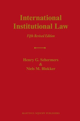 9789004187986: International Institutional Law: Unity Within Diversity