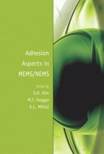 Adhesion Aspects in MEMS/NEMS: Kim, S. h.