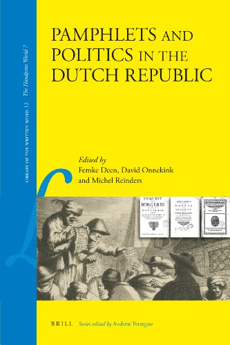 Pamphlets and Politics in the Dutch Republic (Hardback)