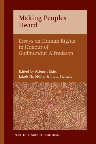 9789004191914: Making Peoples Heard: Essays on Human Rights in Honour of Gudmundur Alfredsson