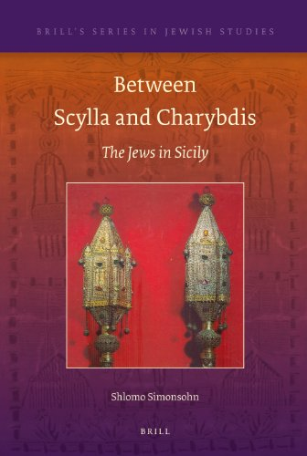 Between Scylla and Charybdis: The Jews in Sicily (Hardback): Shlomo Simonsohn
