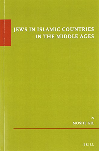 9789004194113: Jews in Islamic Countries in the Middle Ages (paperback) (Etudes Sur Le Judaisme Medieval)