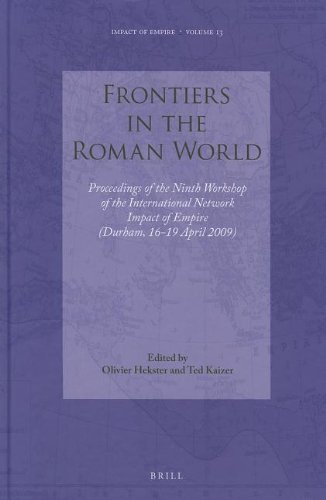 9789004201194: Frontiers in the Roman World (Impact of Empire)