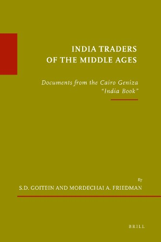 9789004201231: India Traders of the Middle Ages: Documents from the Cairo Geniza ('india Book')