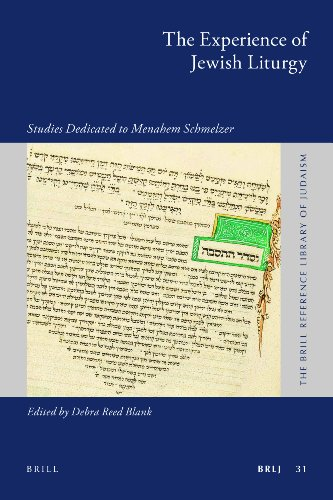 9789004201354: The Experience of Jewish Liturgy (Brill Reference Library of Judaism)