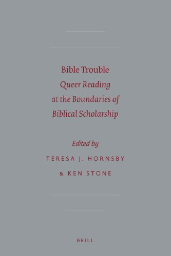 9789004202573: Bible Trouble: Queer Reading at the Boundaries of Biblical Scholarship (Sbl - Semeia Studies)