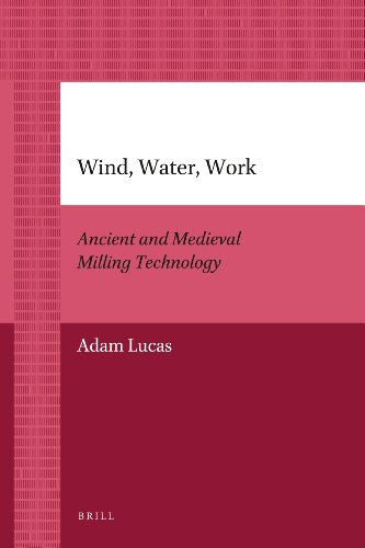 9789004205932: Wind, Water, Work: Ancient and Medieval Milling Technology (Brill's Paperback Collection)