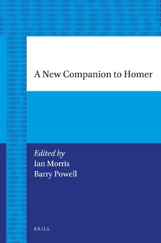 9789004206083: A New Companion to Homer (Brill's Paperback Collection)