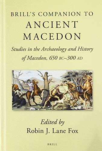9789004206502: Brill's Companion to Ancient Macedon (Brill's Companions in Classical Studies Brill's Companions i)