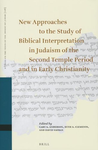 New Approaches to the Study of Biblical Interpretation in Judaism of the Second Temple Period and ...