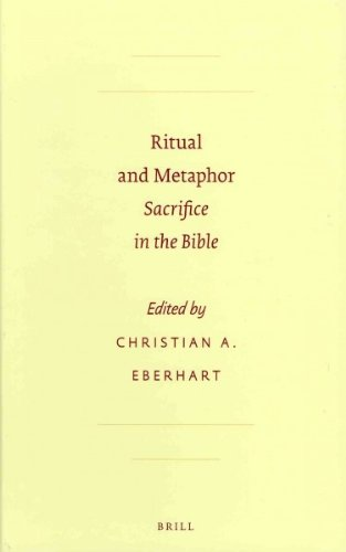 9789004211643: Ritual and Metaphor: Sacrifice in the Bible (Sbl - Resources for Biblical Study)