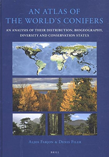 9789004211803: An Atlas of the World's Conifers: An Analysis of Their Distribution, Biogeography, Diversity and Conservation Status