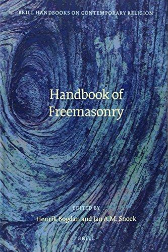 9789004218338: Handbook of Freemasonry (Brill Handbooks on Contemporary Religion)