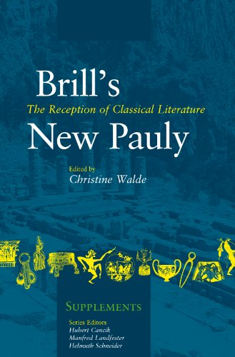 9789004218932: The Reception of Classical Literature (Brill's New Pauly - Supplements)