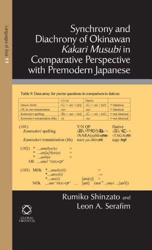 9789004219021: Synchrony and Diachrony of Okinawan Kakari Musubi in Comparative Perspective with Premodern Japanese (Languages of Asia)
