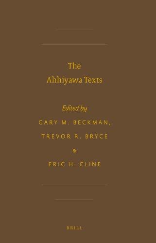 9789004219717: The Ahhiyawa Texts (Society of Biblical Literature: Writings from the Ancient World)